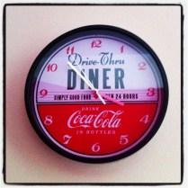 Nuestro nuevo reloj Coca Cola