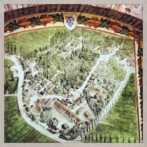 Mapa del Castello de Grazzano
