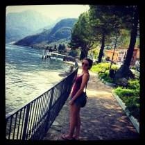 A bañarse en Lago de Como