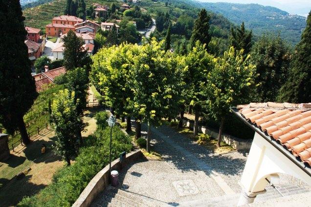 Vistas desde el campanario del Santuario