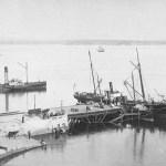 1875: embarcadero de la Ribera