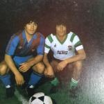 La única vez que #Maradona jugó en los Campos de Sport de El Sardinero