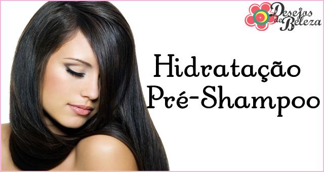 hidratação pré shampoo
