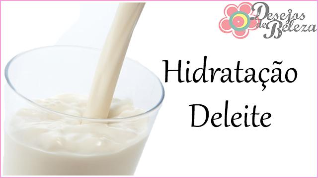 hidratação deleite