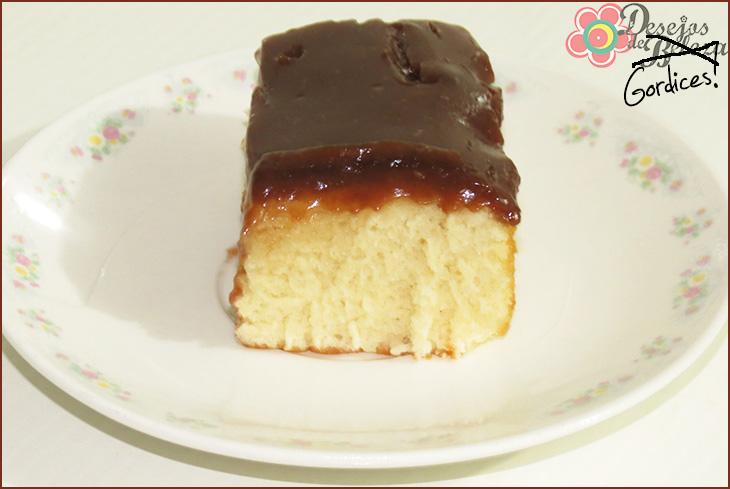 bolo de baunilha com chocolate 3 - desejos de beleza