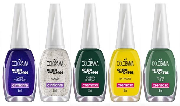 Colorama Copa das Cores - 1 - Desejos de Beleza