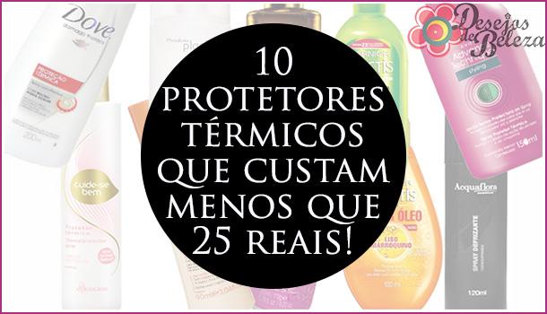 10 protetores térmicos por menos de 25 reais!