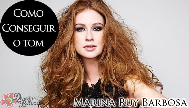 Como conseguir o tom: Marina Ruy Barbosa