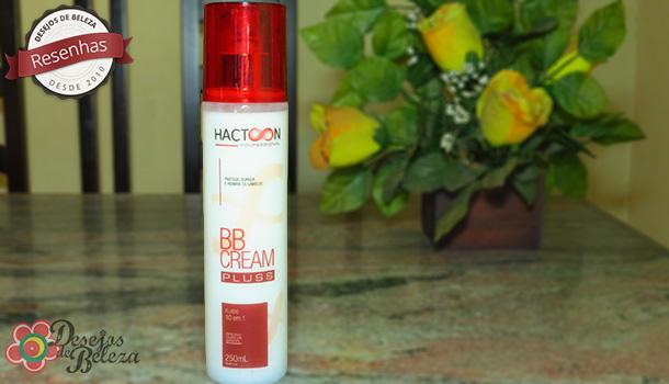 Testei: BB Cream Hactoon