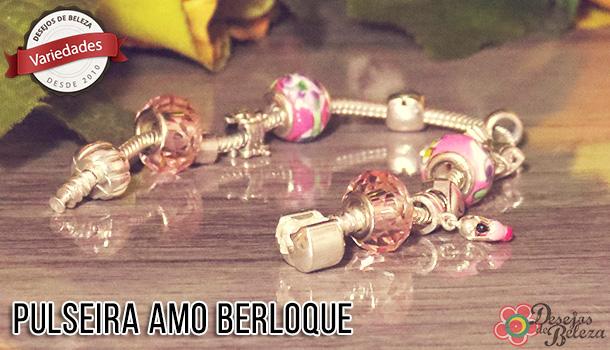 Pulseira Amo Berloque