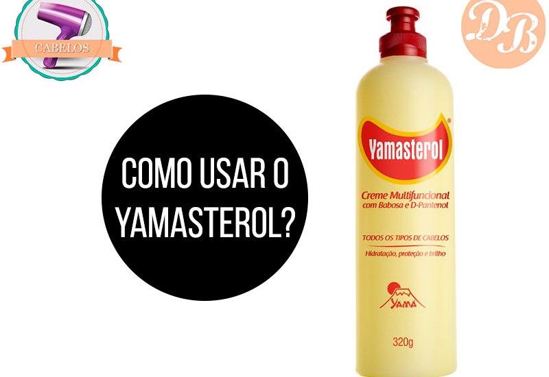 Como usar Yamasterol?