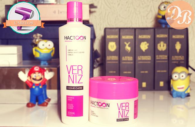 Hactoon Verniz – Shampoo e Máscara