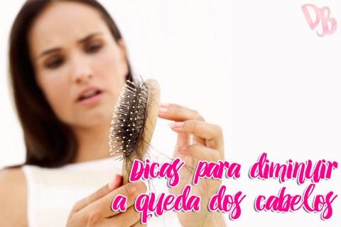 Dicas para diminuir a queda dos cabelos