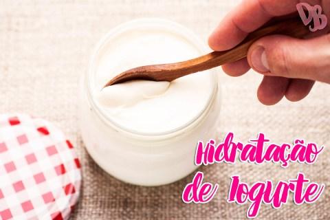 Hidratação de iogurte