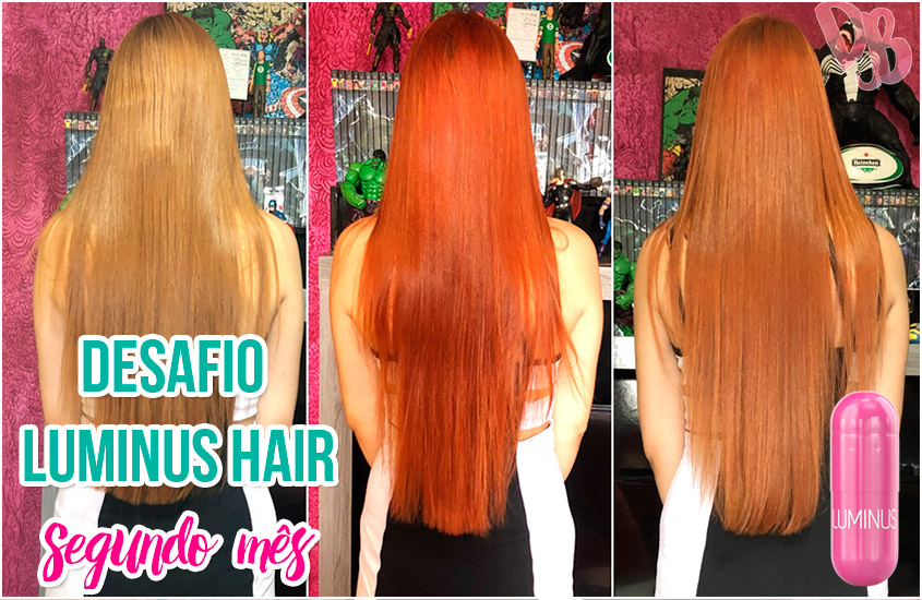Desafio 90 Dias Luminus Hair – Segundo mês