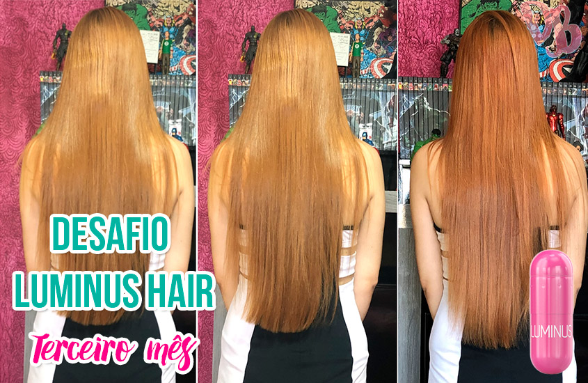 Desafio 90 Dias Luminus Hair – Terceiro mês