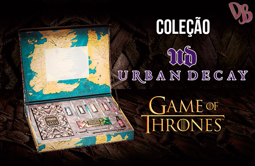 Coleção Game of Thrones Urban Decay