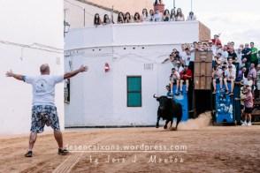 Salida del toro de El Torreón.