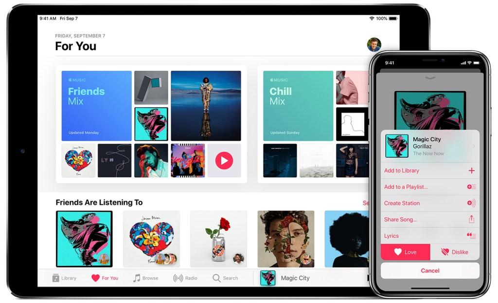 Apple Music es compatible con todos los sistemas operativos