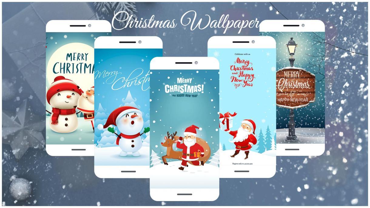 Personaliza tu móvil con los mejores wallpapers navideños 2019