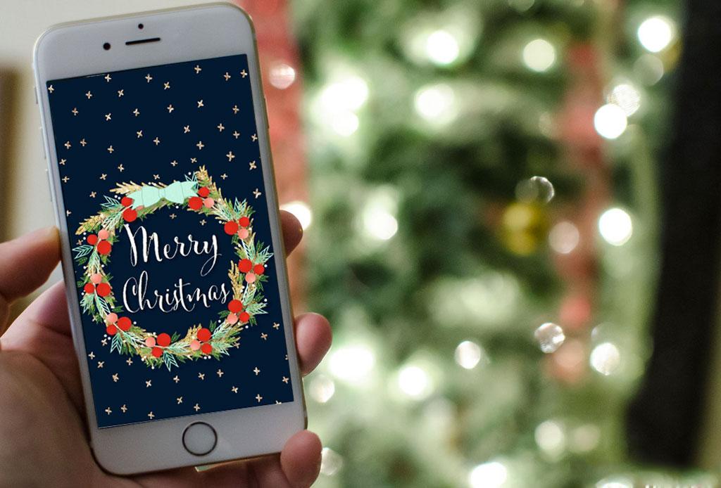 Esta increíble app para iOS integra los mejores wallpapers navideños con una gran variedad de estilos