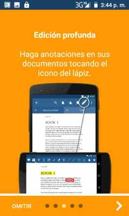 ver y editar PDF en android