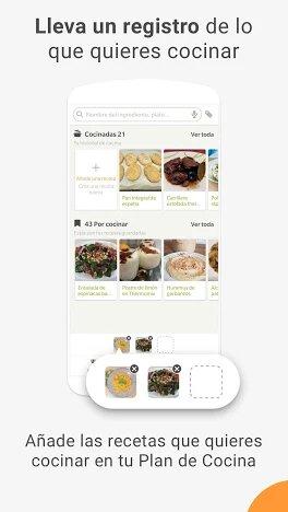 apps de recetas saludables