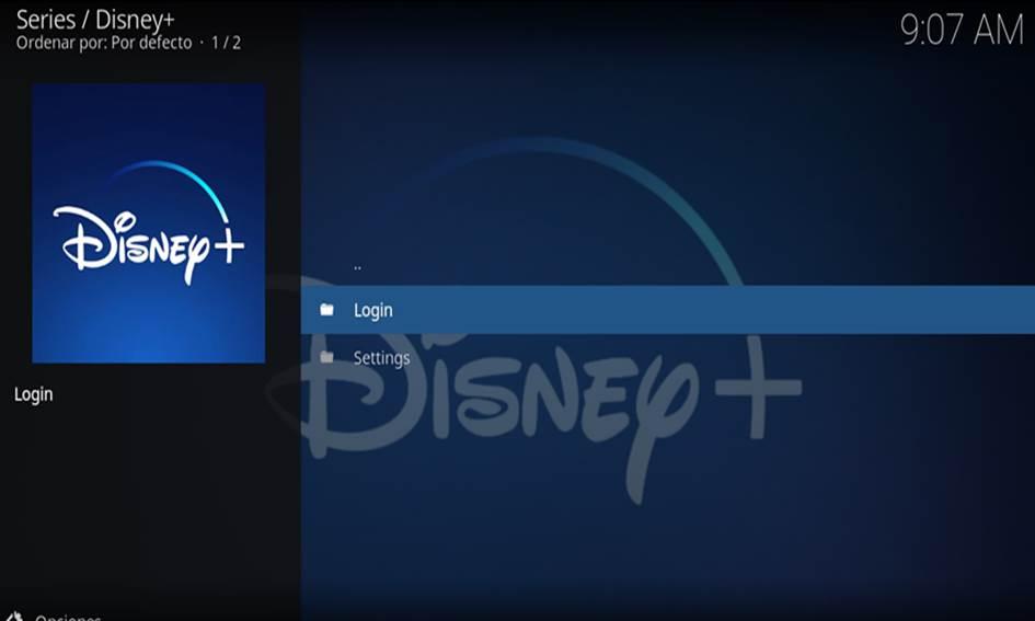 Instalar Disney Plus en Kodi