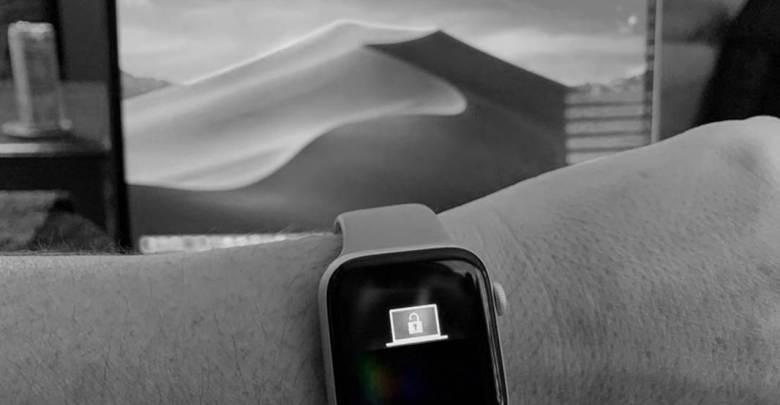 desbloquear el Mac con el Apple Watch