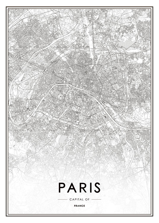 san francisco map poster