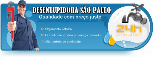 Desentupidora em São Paulo