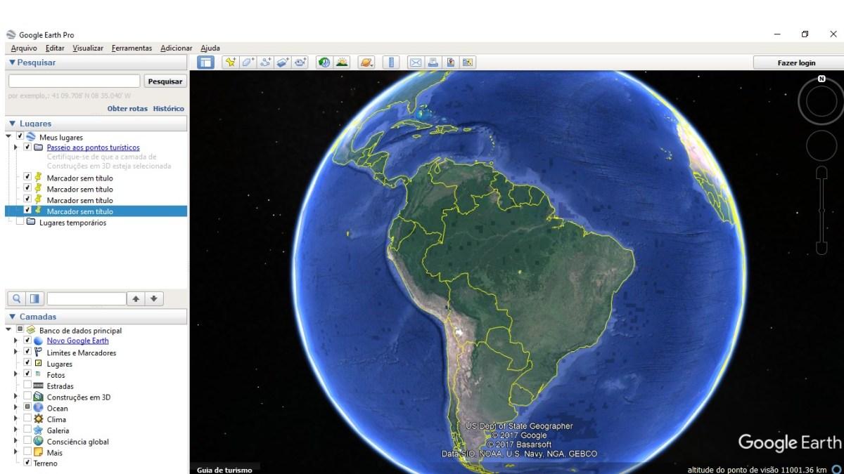 Como medir áreas, caminhos, estradas e instalações via Google Earth