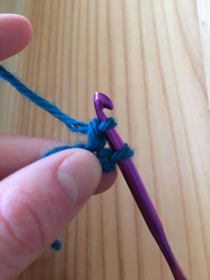 foundation single crochet