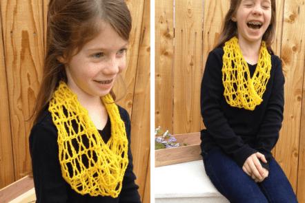 Honeycomb Kid's Cowl