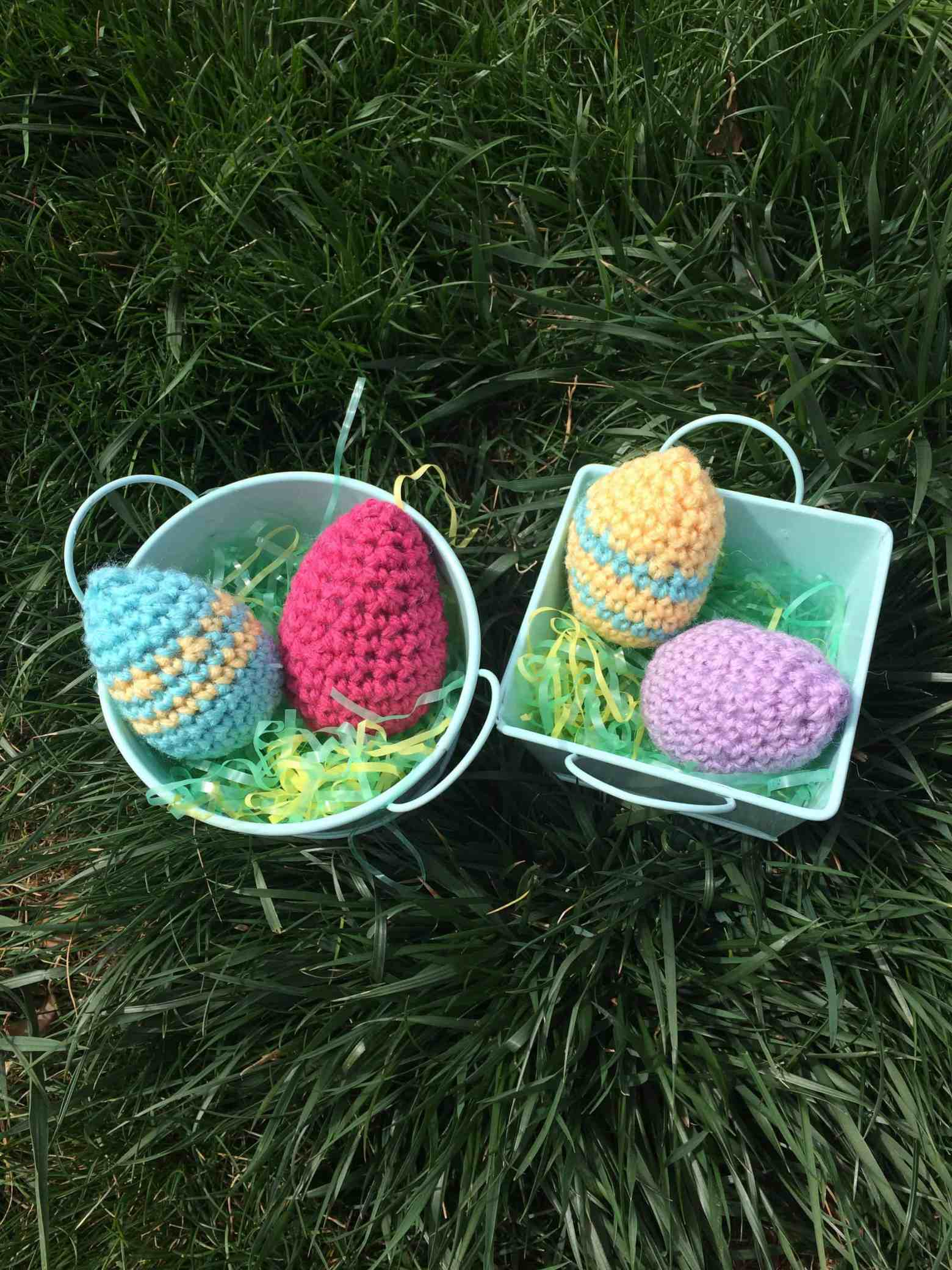 Crochet Easter Eggs by Desert Blossom Crafts