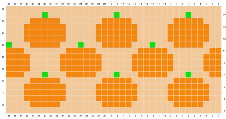 pumpkin basket—free crochet pattern
