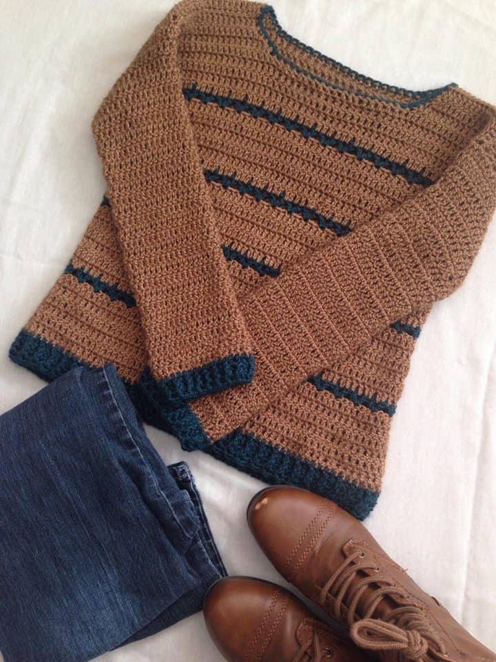 Adalyn Pullover—Free Crochet Pattern