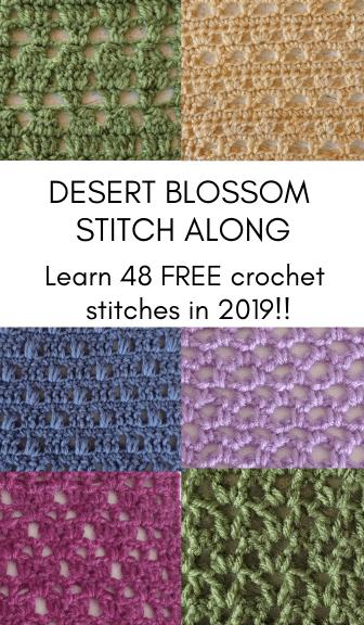 Desert Blossom Stitch Along 48 Free Crochet Stitches