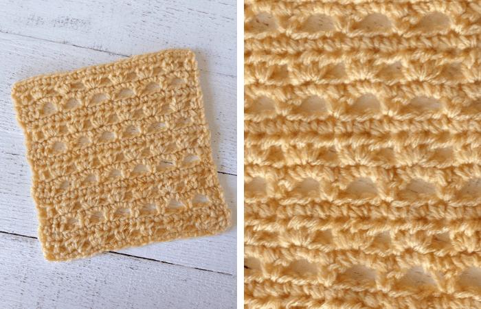 how to crochet the lacy sunburst stitch—free crochet pattern