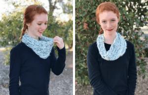 wintergreen cowl—free crochet pattern