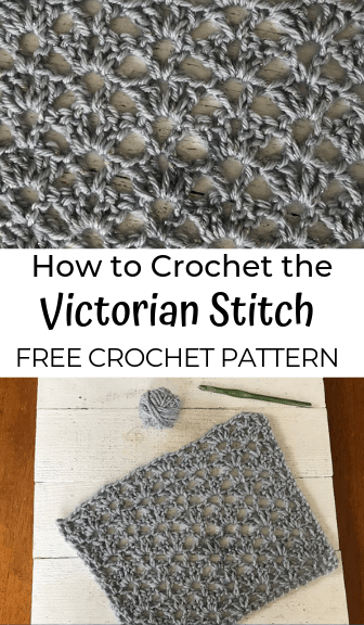 how to crochet the victorian stitch—free crochet pattern