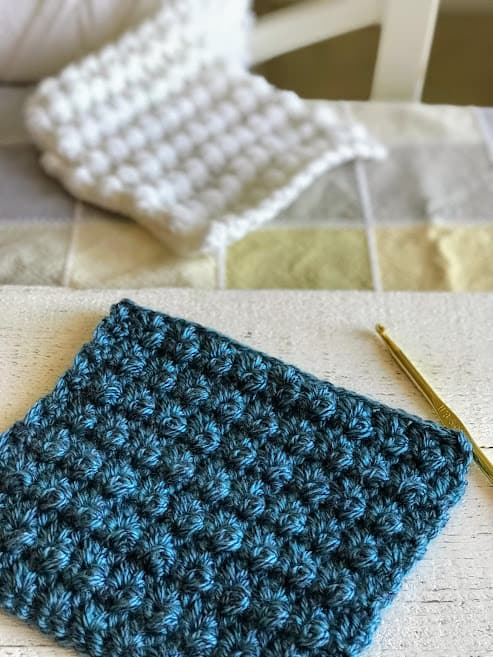 how to crochet the mayberry stitch—free crochet pattern