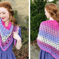 The Amore Shawl Free Crochet Pattern