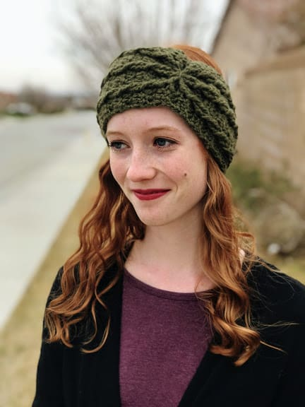 alicia ear warmer—free crochet pattern