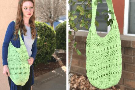 march market bag—free crochet pattern