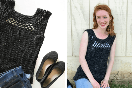 midnight top—free crochet along introduction