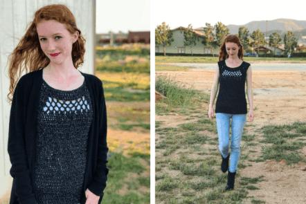 midnight top—free crochet along part 2