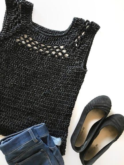 Midnight Top—Free Crochet Along