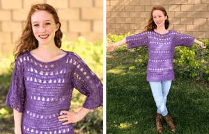 Shelby Top—Free Crochet Pattern