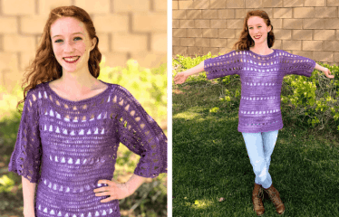 Shelby Top—Free Crochet Pattern